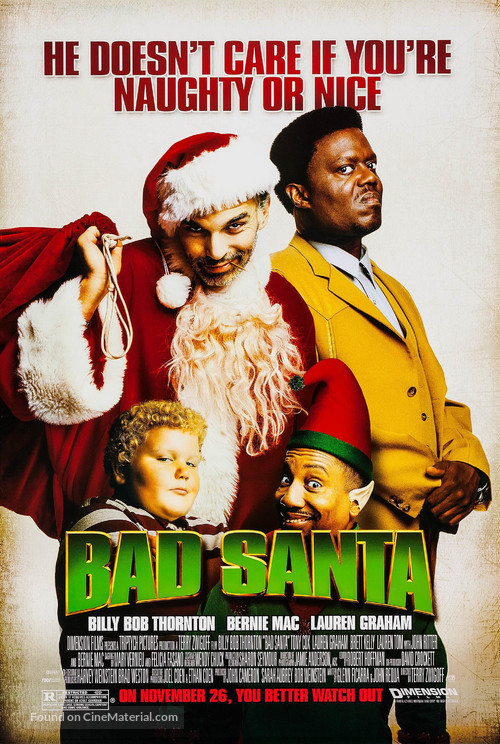 Bad Santa - Movie Poster