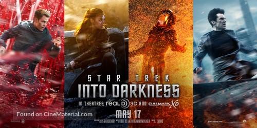 Star Trek: Into Darkness - Movie Poster