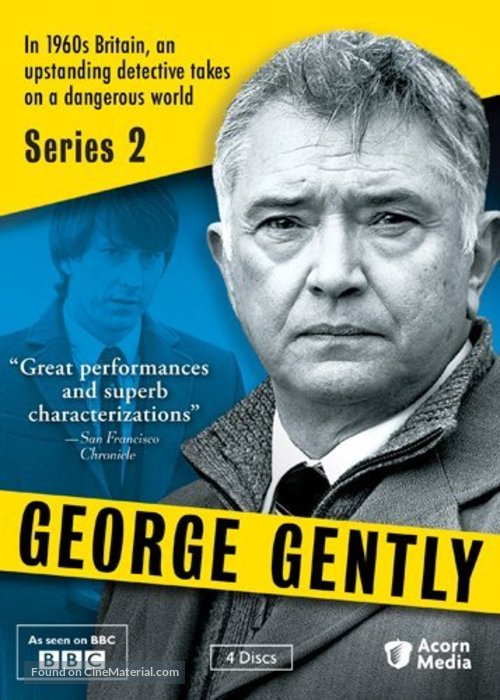 """""""Inspector George Gently"""" - DVD movie cover"""