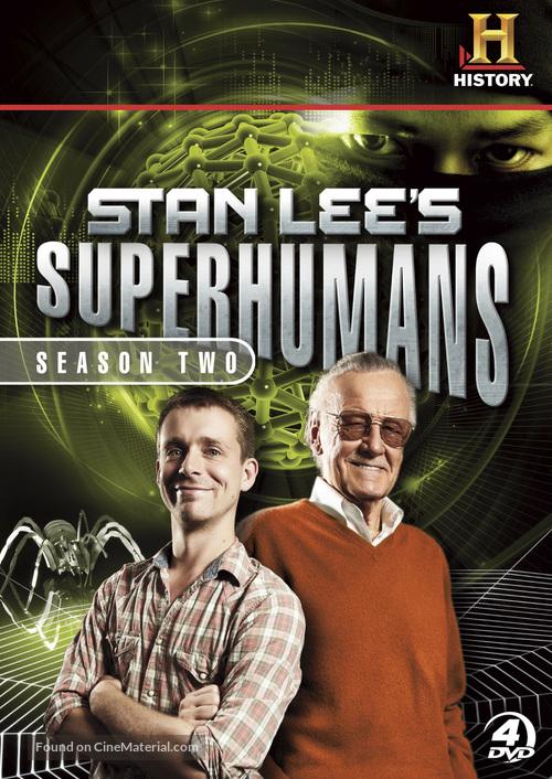 """Stan Lee's Superhumans"" - DVD movie cover"
