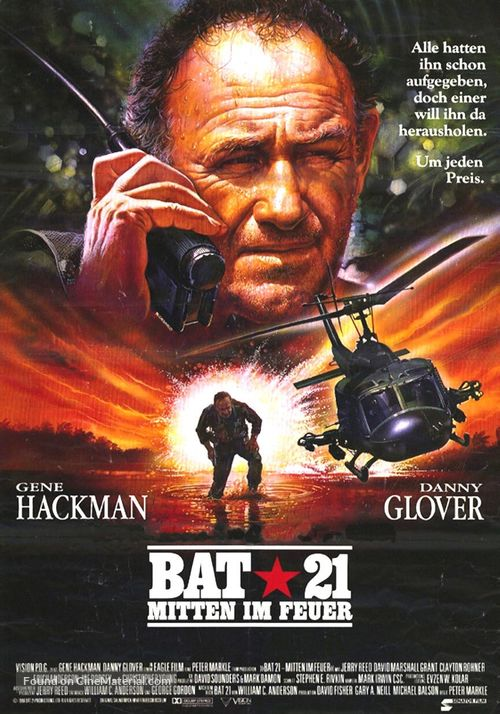 Bat*21 - German Movie Poster