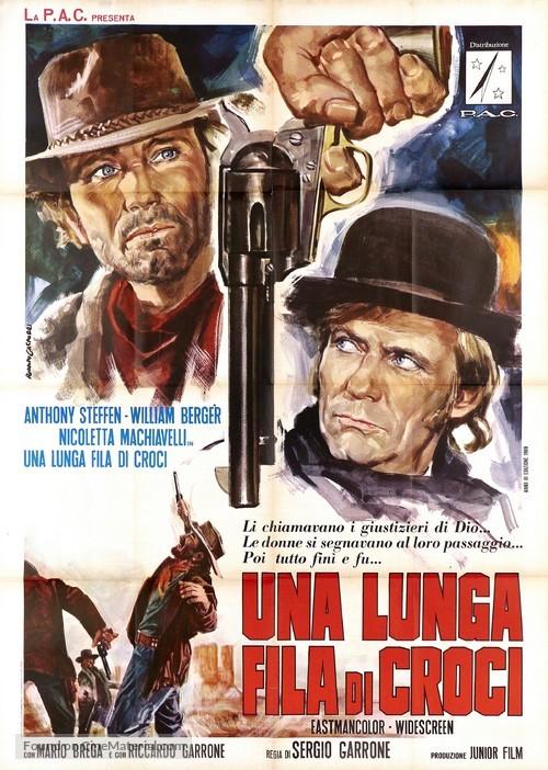 Una lunga fila di croci - Italian Movie Poster