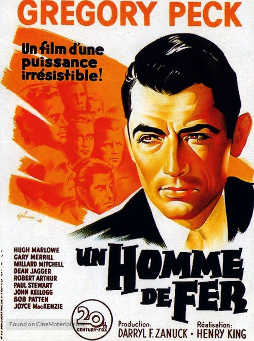 Twelve O'Clock High - French Movie Poster