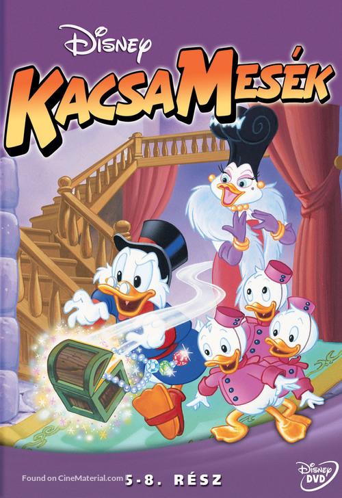 """""""DuckTales"""" - Hungarian DVD movie cover"""