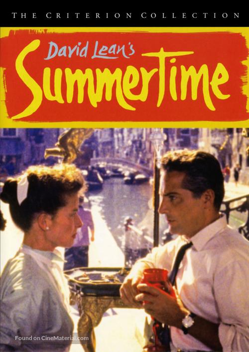 Summertime - DVD movie cover
