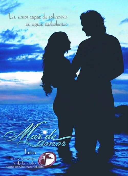 """""""Mar de amor"""" - Mexican Movie Poster"""
