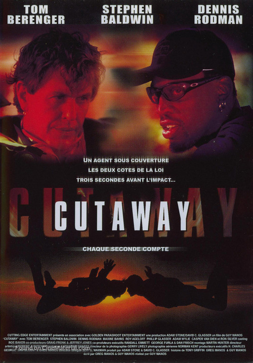 Cutaway - French DVD movie cover