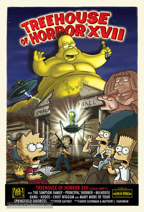 """""""The Simpsons"""" - Movie Poster"""