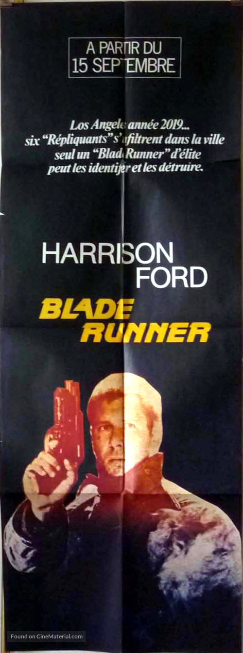 Blade Runner - French Movie Poster