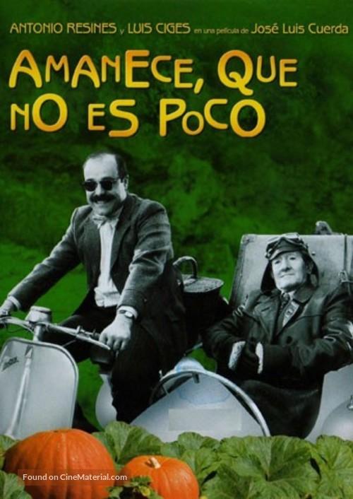 Amanece, que no es poco - Spanish Movie Cover