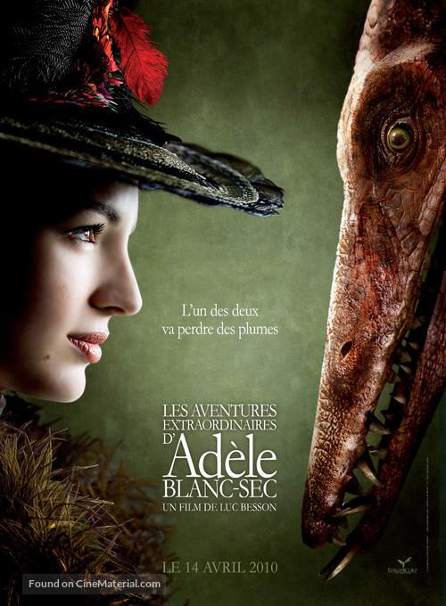 Les aventures extraordinaires d'Adèle Blanc-Sec - French Movie Poster