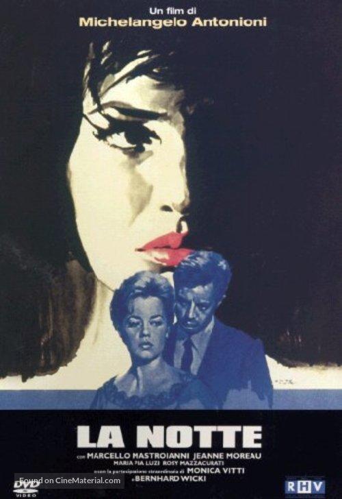 La notte - Italian DVD movie cover