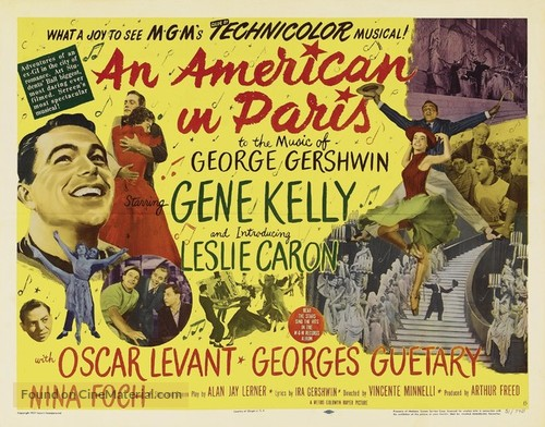 An American in Paris - Movie Poster