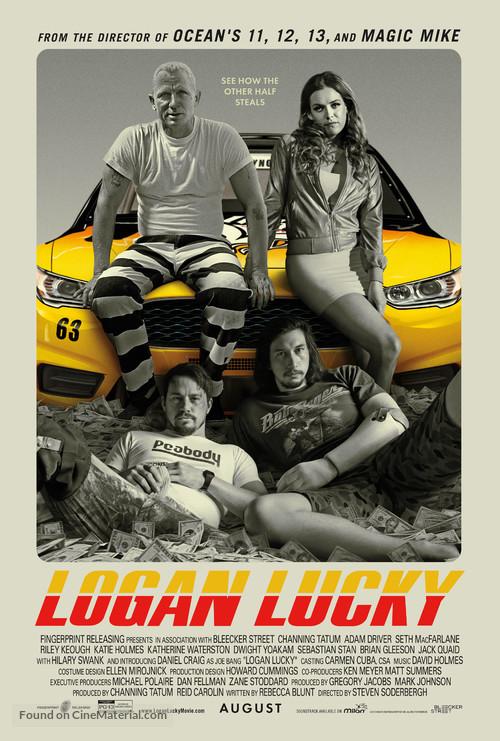 Logan Lucky - Movie Poster