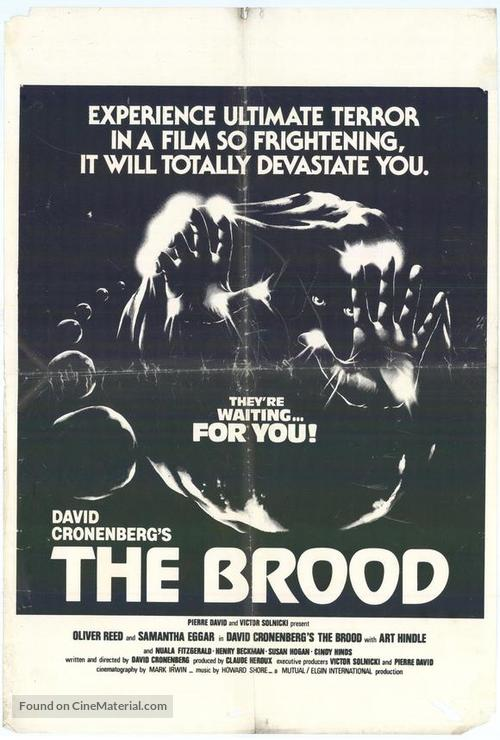 The Brood - Canadian Movie Poster