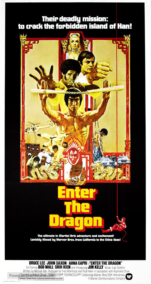 Enter The Dragon - Movie Poster