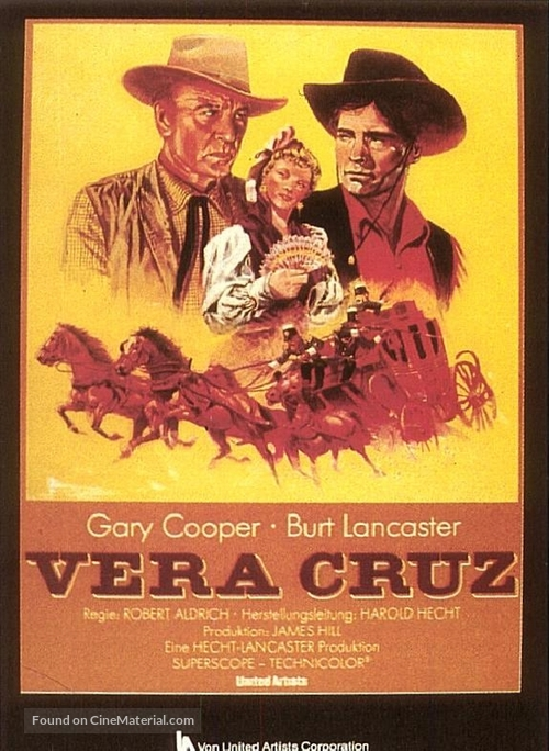 Vera Cruz - Movie Poster
