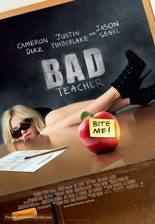 Bad Teacher - Australian Movie Poster