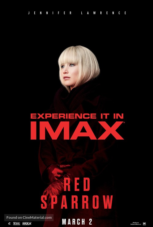 Red Sparrow - Movie Poster