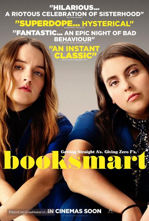 Booksmart - British Movie Poster