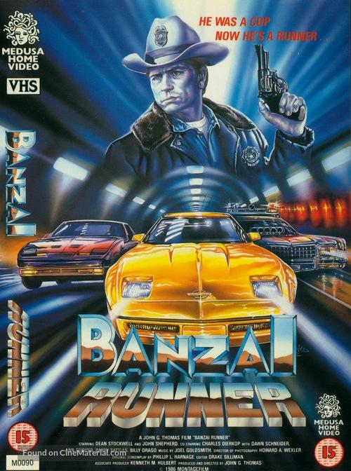 Banzai Runner - British Movie Cover
