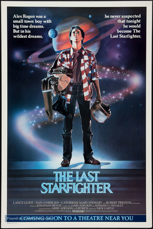 The Last Starfighter - Advance movie poster