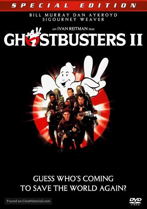 ghostbusters ii dvd cover