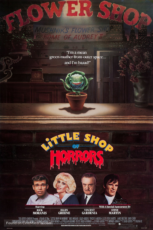 Little Shop of Horrors - Advance movie poster