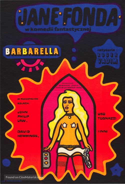 Barbarella - Polish Movie Poster