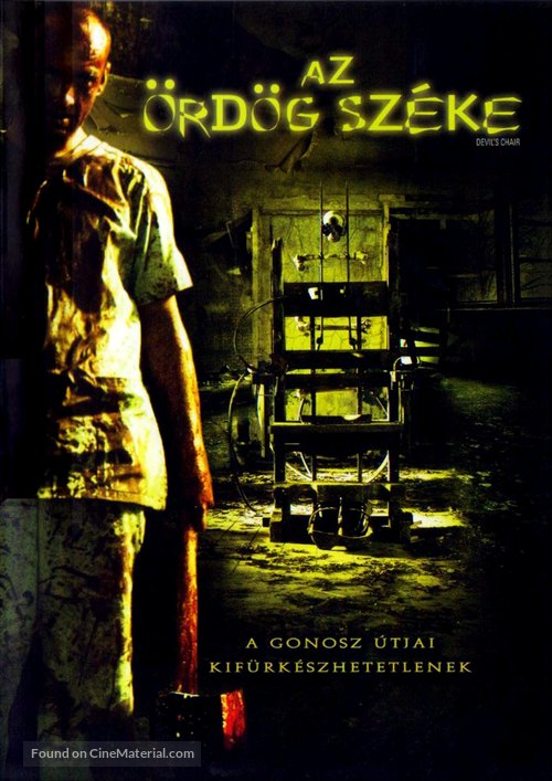 The Devil's Chair - Hungarian Movie Cover