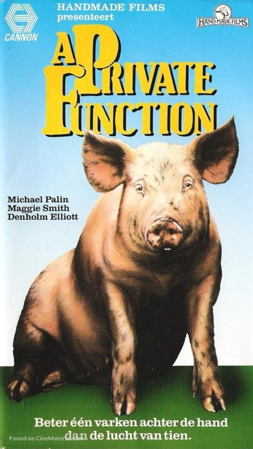 A Private Function - German Movie Cover