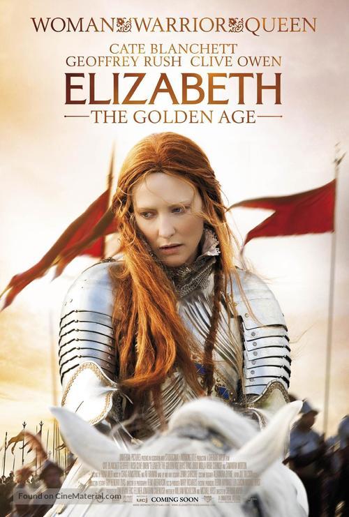 Elizabeth: The Golden Age - Movie Poster
