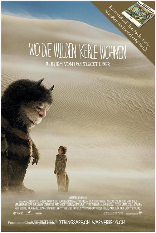 Where the Wild Things Are - Swiss Movie Poster