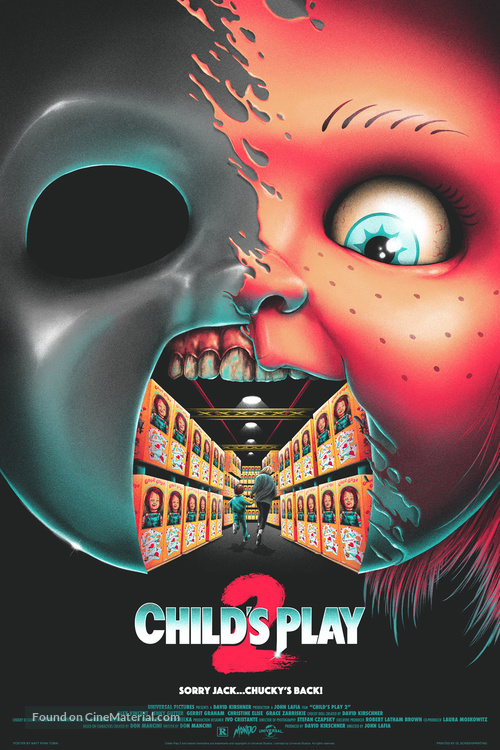 Child's Play 2 - Homage movie poster