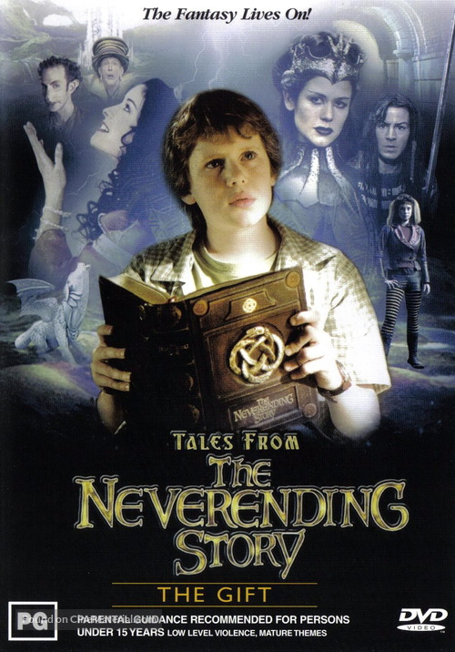 """Tales from the Neverending Story"" - Australian DVD cover"
