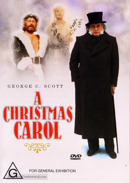 A Christmas Carol - Australian DVD movie cover