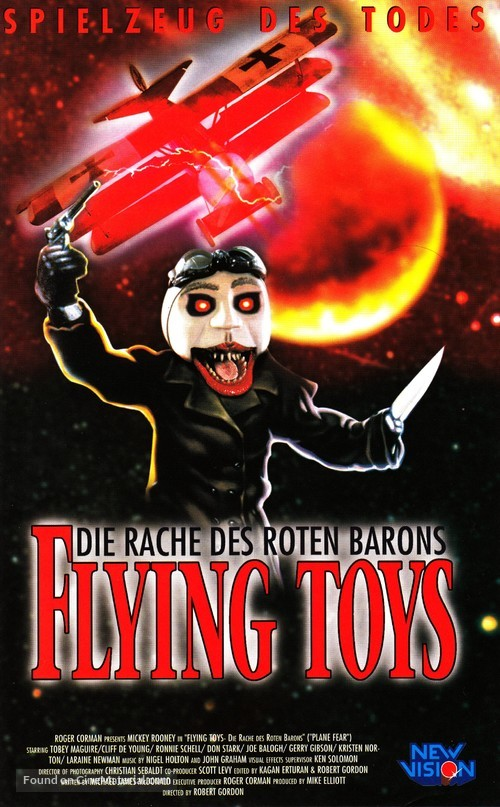 Revenge of the Red Baron - German Movie Poster