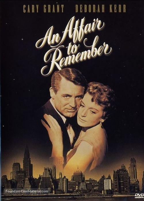 An Affair to Remember - DVD movie cover