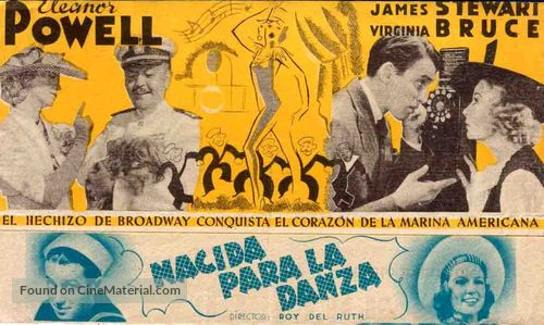 Born to Dance - Spanish Movie Poster