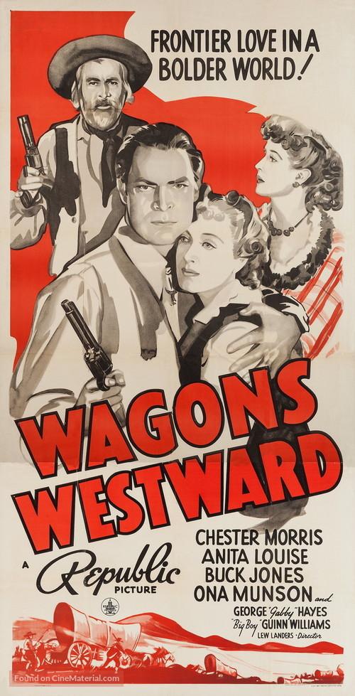 Wagons Westward - Movie Poster