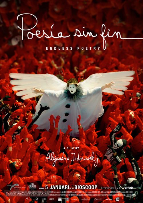 Poesía Sin Fin - Dutch Movie Poster