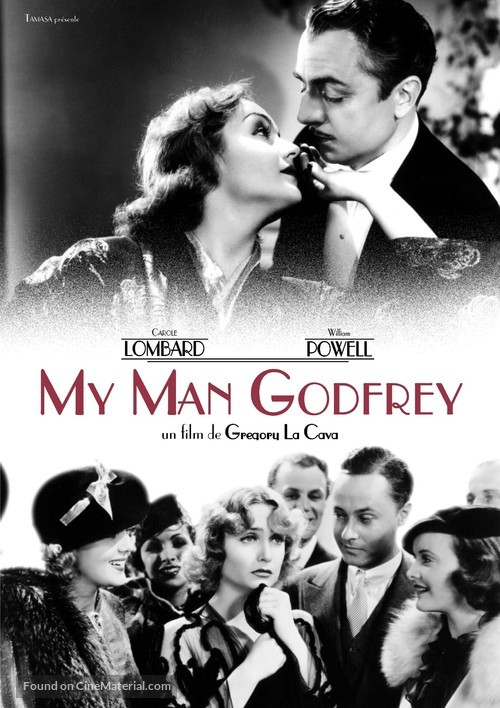 My Man Godfrey - French DVD cover
