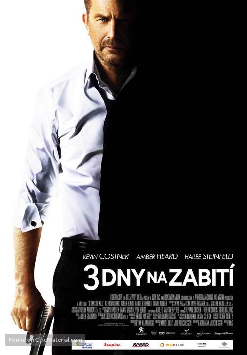 3 Days to Kill - Czech Movie Poster
