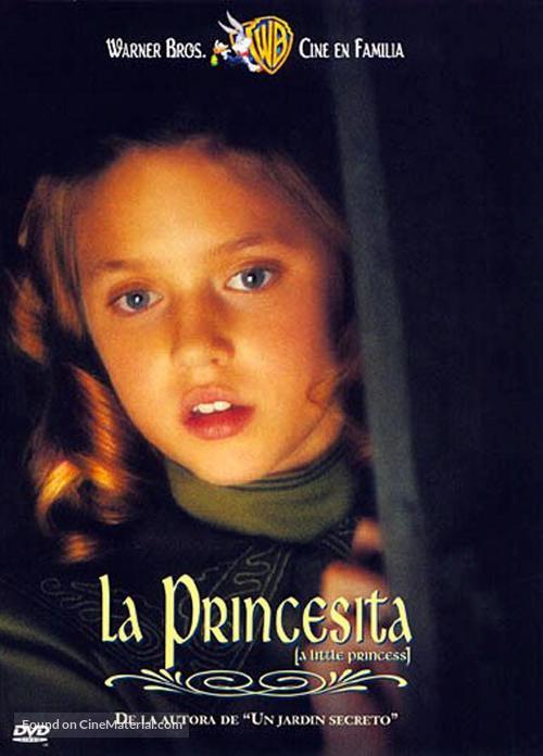 A Little Princess - Spanish DVD movie cover