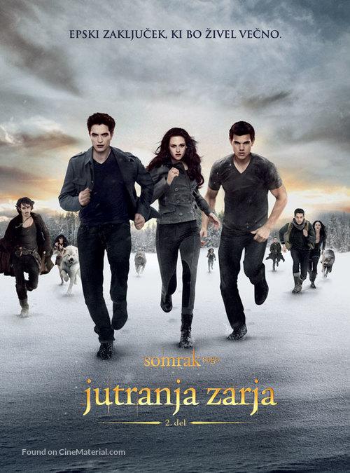 The Twilight Saga: Breaking Dawn - Part 2 - Slovenian Movie Poster