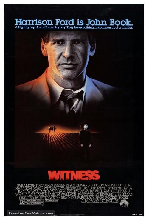 Witness - Movie Poster