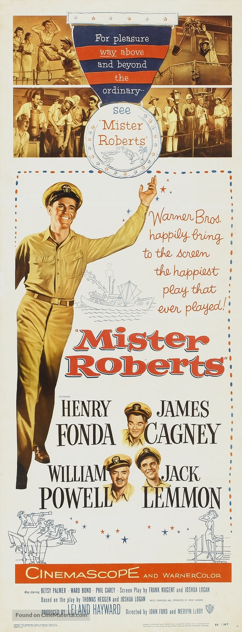 Mister Roberts - Movie Poster