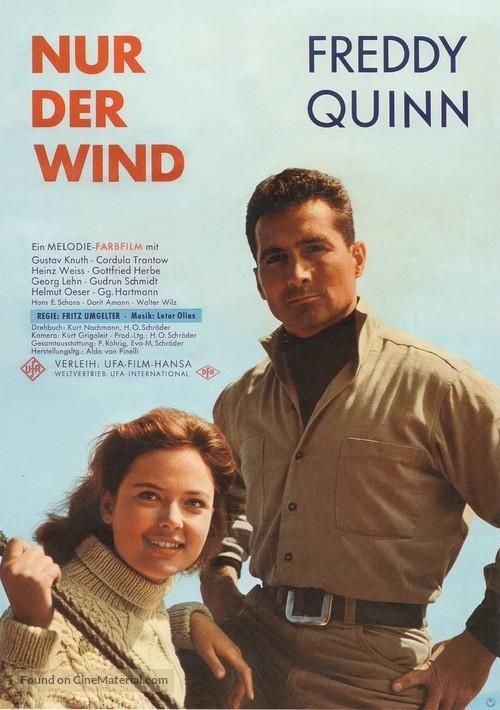 Nur der Wind - German Movie Poster