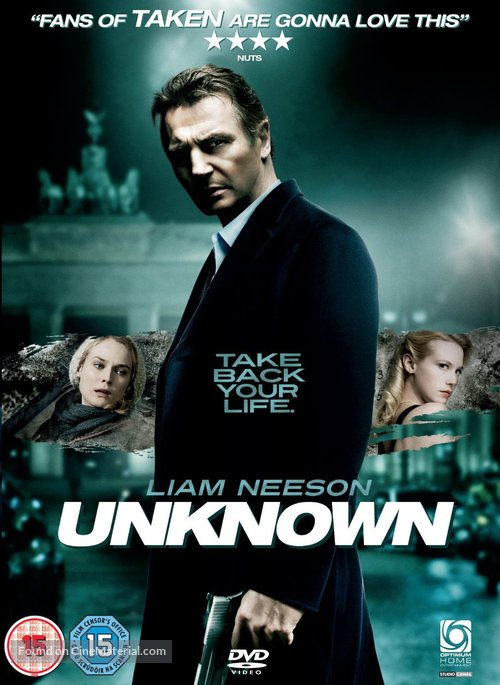 Unknown - British DVD movie cover