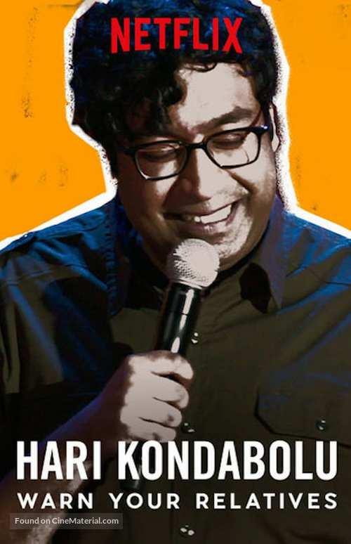 Hari Kondabolu: Warn Your Relatives - Video on demand movie cover